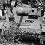 Panzer IV of Fallschirm Panzer Division 1. Hermann Göring in Italy 1944 front