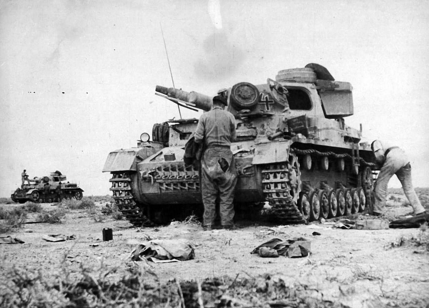 Panzer IV ausf E of the Deutsches Afrikakorps (DAK)