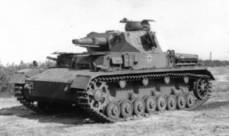 Panzer IV ausf E number 613