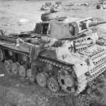 Body of German Soldier on Panzer III DAK - 1 February 1943