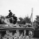 German Panzer III and crew