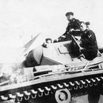 German Panzer III and crew 2