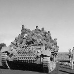 German Troops Riding on Panzer III 2
