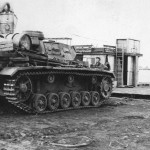 German medium tank Panzer III 324 DAK
