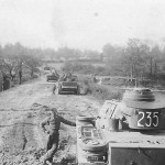 German medium tanks Panzer III code 235 231