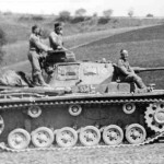 Panzer III code 534 of the 2nd Panzer Division