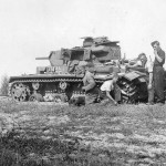 Panzer III code 731 of the 17. Panzer Division eastern front 1942