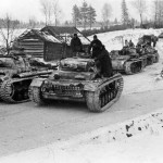 Panzer III Ausf J of the 12 Panzer Division winter camo 1