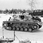 Panzer III Ausf J of the 12 Panzer division winter camo 2