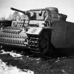 Panzer III Ausf J 4 with Schurzen