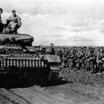 Panzer III Ausf J during operations on the Eastern Front in the summer of 1942
