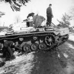 Panzer III maintenance