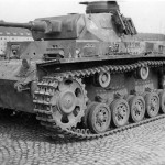 Panzer III of the 2 Panzer Division