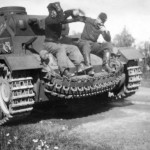 Panzer III tank of the 2nd Panzer Division
