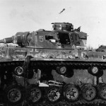 side view of a Panzer III number 15