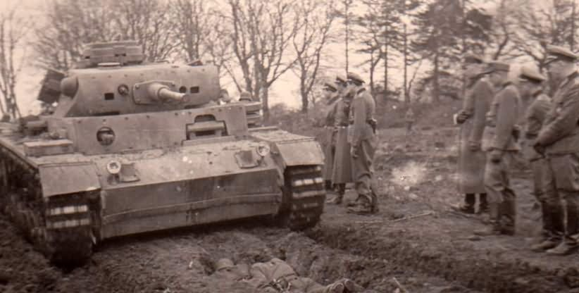 Medium tank Panzer III Ausf L 3