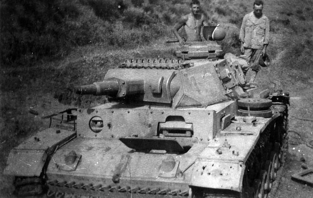 Panzer III Ausf N Italy 1944