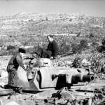 Panzer III Ausf N 122 dug in