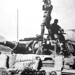 Panzer III Ausf N with sandbags