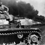 Befehlspanzer III Ausf H code R01 in action in Russia.