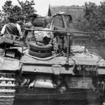 Panzerbefehlswagen III Ausf E rear