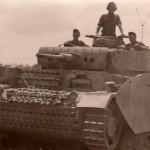Panzer III ausf M 00 BefehlsPanzer with schurzen