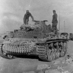 Panzerbefehlswagen III Ausf E of the 8 Panzer Regiment DAK 1