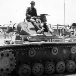 Panzerbefehlswagen III Ausf E of the 8 Panzer Regiment DAK 2