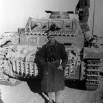 Panzerbefehlswagen III Ausf E of the 8 Panzer Regiment DAK front