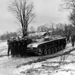 Befehlspanzer III 1944 Generalmajor Schulz funeral