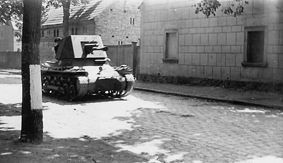 Panzerjager German 4.7cm PaK(t) (Sf) auf Pzkw.I Ausf.B Tank Destroyer