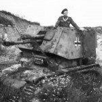 Captured Panzerjager 35R Atlantik Wall 1945