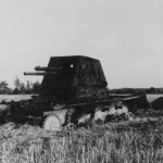 Destroyed Panzerjager I 2