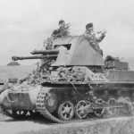 German light tank destroyer Panzerjager I