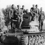 Panzerjager I and Wehrmacht troops