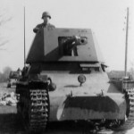 Panzerjager I front view 3
