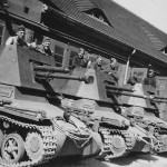 Panzerjager I german tank destroyers