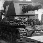 Panzerjager I on trailer