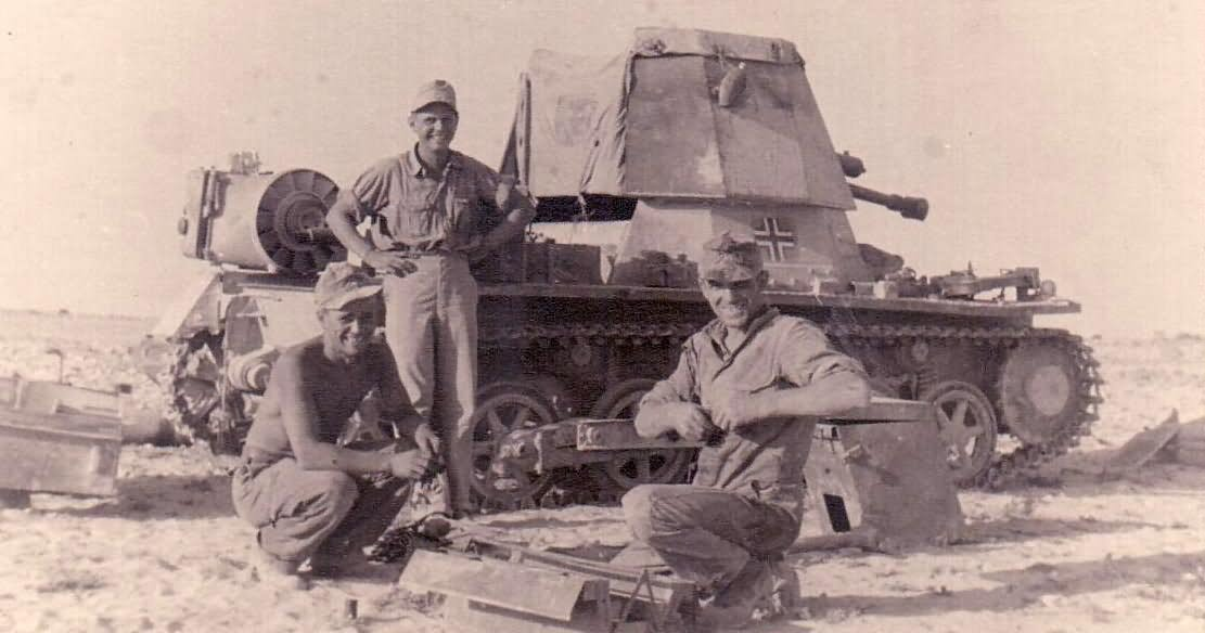panzerjager I deutsche Afrika korps North Africa | World ...