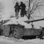 30th D Engineers remove trap on StuG Geromont 15jan45