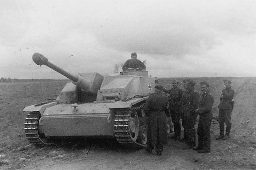 German 50 Mm Anti Tank Gun: StuG III Ausf. G / Late