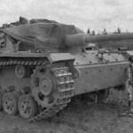 Damaged StuG 40