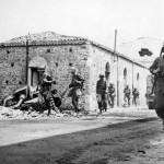 GIs Pass German StuG 40 Santa Agata Sicily 1943