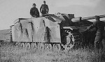 German assault gun StuG 40 Ausf F with skirt armour