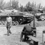StuG 40 Ausf F guns