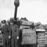 StuG 40 Ausf F with spaced armour plates
