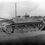 StuG 40 Ausf G with saukopf Eastern front