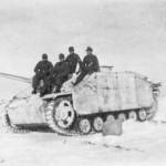 StuG 40 Ausf G with schurzen winter camo eastern front