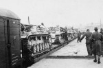 StuG 40 rail transport