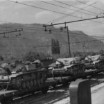 StuG 40 in transit to the Italian front